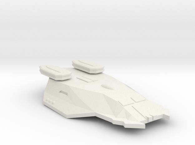 3125 Scale Zosman Light Cruiser (CL) MGL in White Natural Versatile Plastic