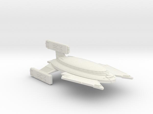 3788 Scale Vudar War Cruiser (CW) MGL in White Natural Versatile Plastic