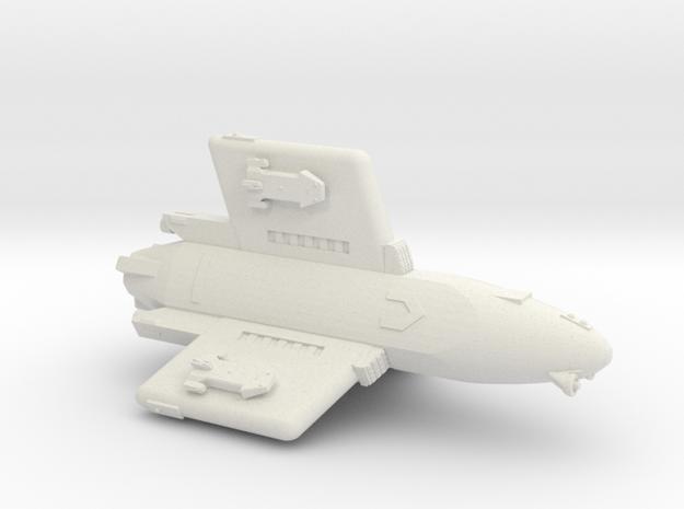 3788 Scale Hydran Pegasus Gunboat/PF Tender CVN in White Natural Versatile Plastic