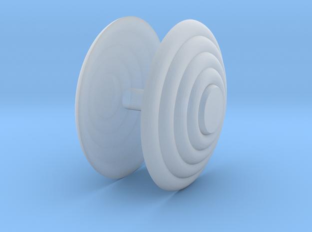 Bullbar Lenses 1-24 scale in Smooth Fine Detail Plastic