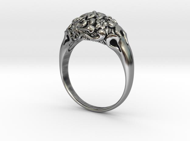 """Fleur"" Dome Ring"