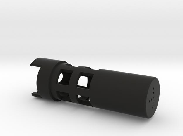 89 QG 18650 with  pixel in Black Natural Versatile Plastic