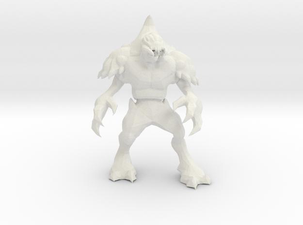 Psy-Prawn 1 in White Natural Versatile Plastic