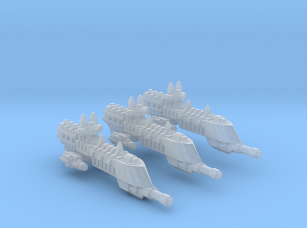 BFG Imperial frigate Firestorm Class fleet scale