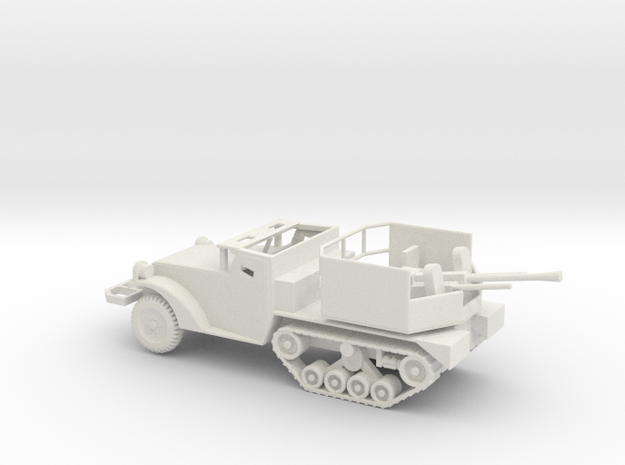 1/87 Scale M15A1 HalfTrack with 37mm AA Gun