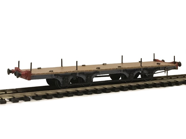 LBSCR Brighton Works Machinery Wagon (Now in N!) in White Natural Versatile Plastic: 1:76 - OO