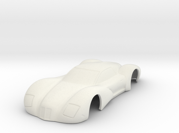 "HWP 2018 ""Auburn"" Concept Car in White Natural Versatile Plastic"