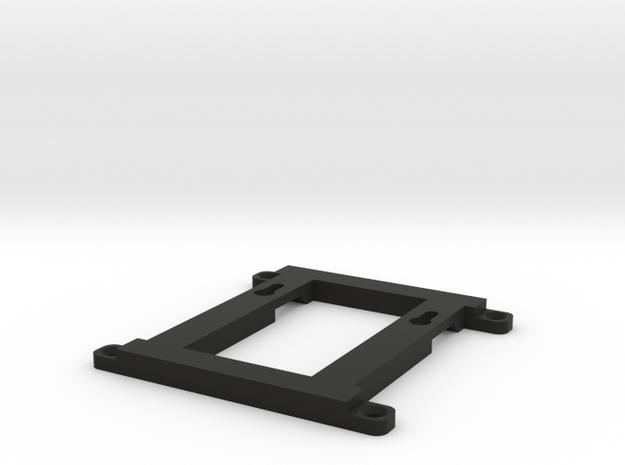 Mini PC wall mount in Black Natural Versatile Plastic