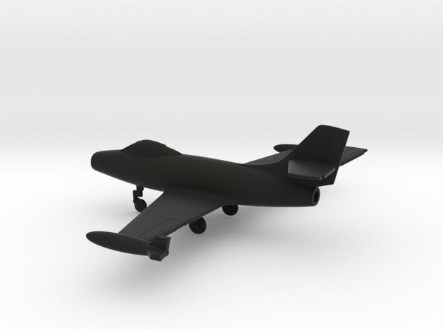 Dassault MD.450 Ouragan in Black Natural Versatile Plastic: 1:160 - N