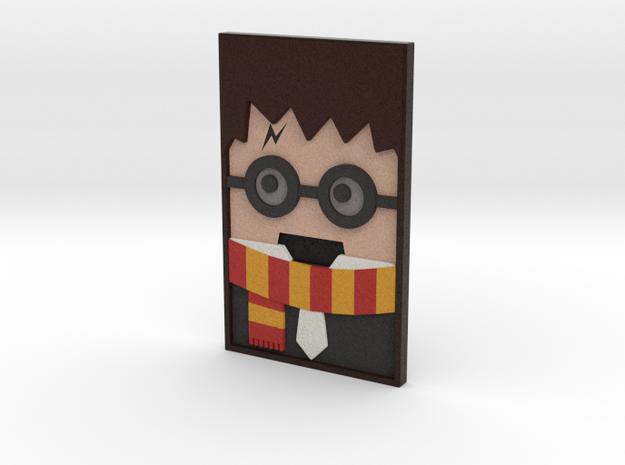 Harry 3D Portrait in Natural Full Color Sandstone