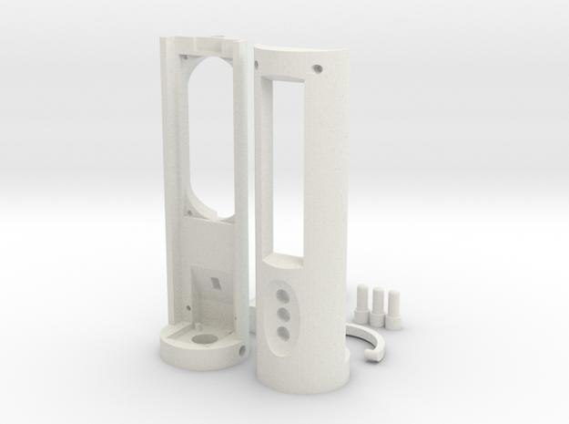 Arduino Color Picker case in White Natural Versatile Plastic