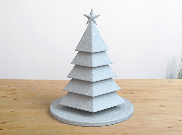 Christmas Tree Stylized Miniature 01