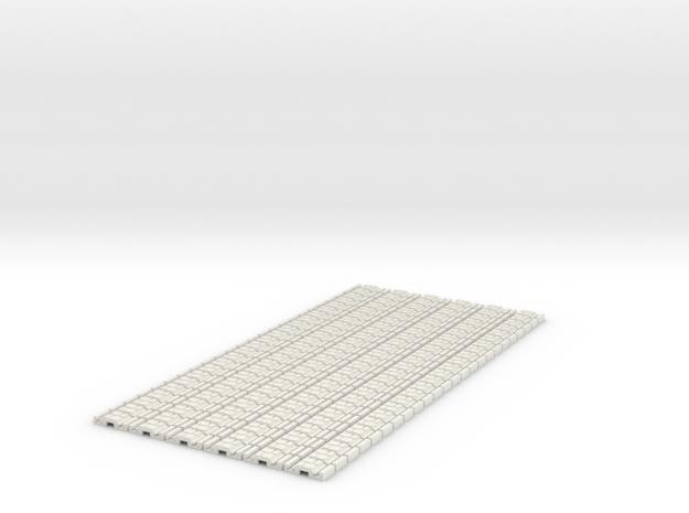 p-9st-slim-flexi-tram-track-100-x144-1a in White Natural Versatile Plastic
