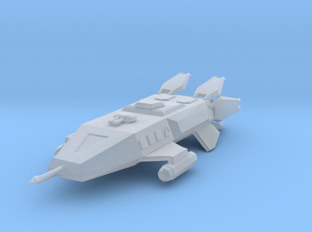 Earthforce Hermes-Class Transport 57mm in Smooth Fine Detail Plastic