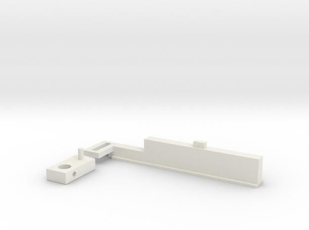 Quad 33 Balance Control in White Natural Versatile Plastic