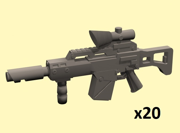 28mm laser rifles g36 acog x20