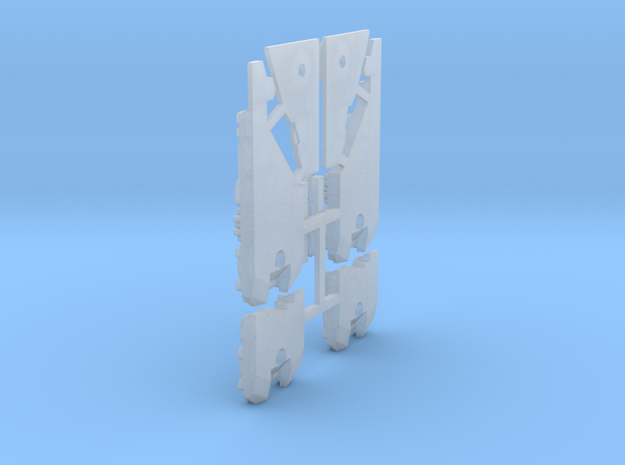 DX SPEAKER FUD DETAILS (part 2/2) in Smooth Fine Detail Plastic