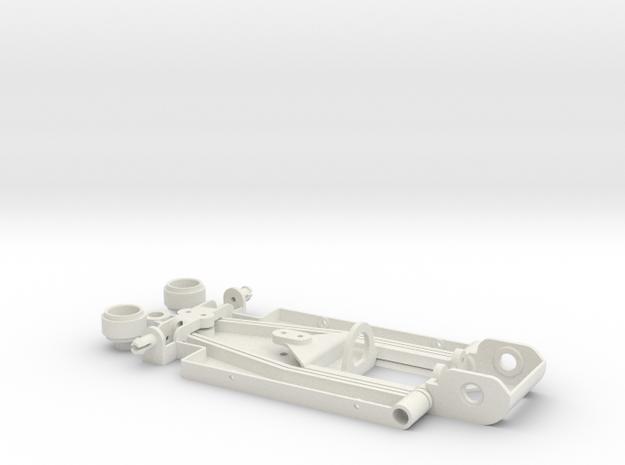 F1 1/32 in White Natural Versatile Plastic