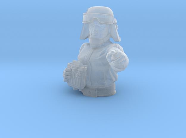 Deluxe Chicken Commander in Smoothest Fine Detail Plastic