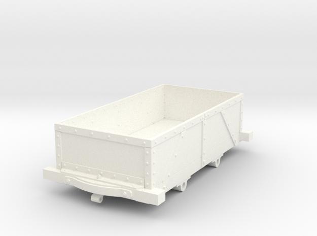 NRC01 Nantlle Railway Wagon (PYO Dia. Strap) 16mm in White Processed Versatile Plastic