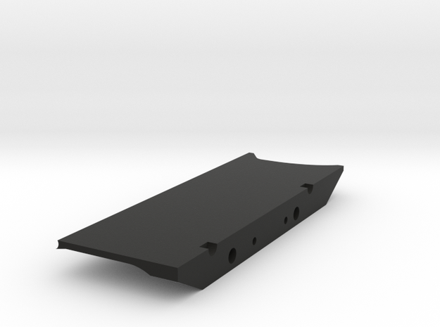 DELTA Chassis Samurai Left Side Slider in Black Natural Versatile Plastic