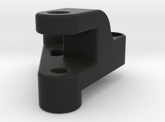3D print, Axial SMT10 Shock mounts for AE shocks - in Black Natural Versatile Plastic