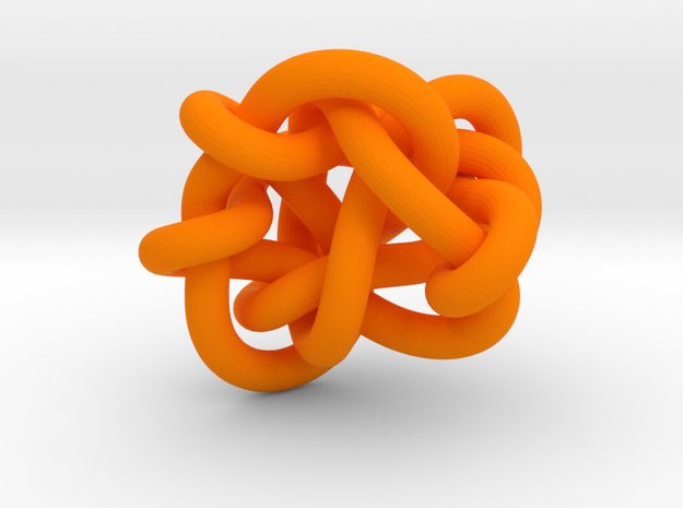 B&G tangle 03 in Orange Processed Versatile Plastic