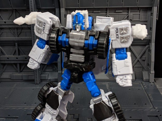 G1 Magnus style Missile Add On for TF in White Natural Versatile Plastic