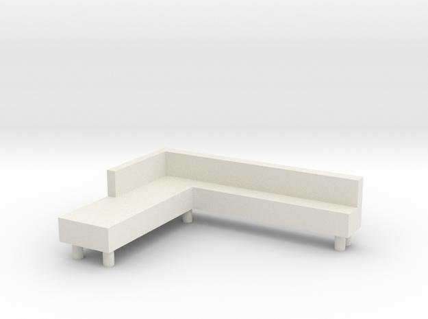 sofa in White Natural Versatile Plastic