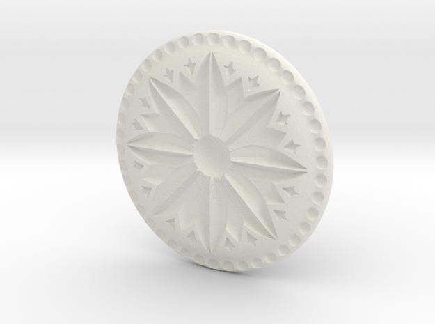 Holiday Cookie Stamp in White Natural Versatile Plastic