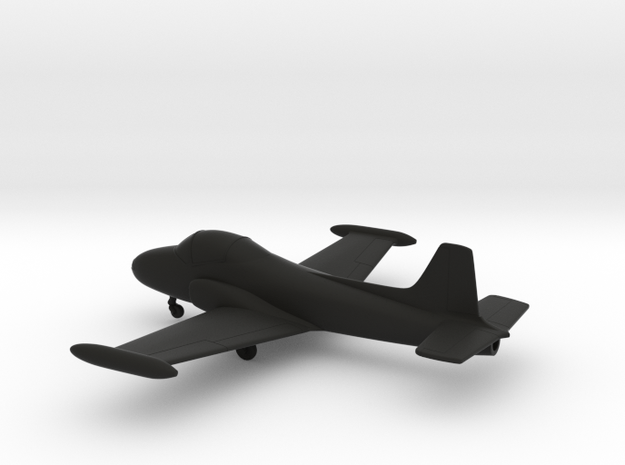 BAC Jet Provost T5A in Black Natural Versatile Plastic: 1:144