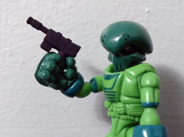 PRHI Glyos Star Wars Smuggler Blaster in Black Natural Versatile Plastic