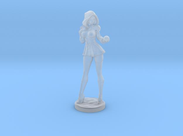 Sandra Claus w/ snowball mini in Smooth Fine Detail Plastic