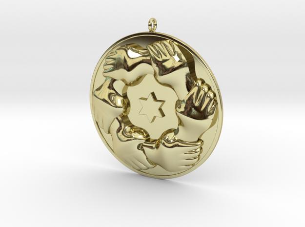 Makkal Needhi Maiam in 18K Yellow Gold