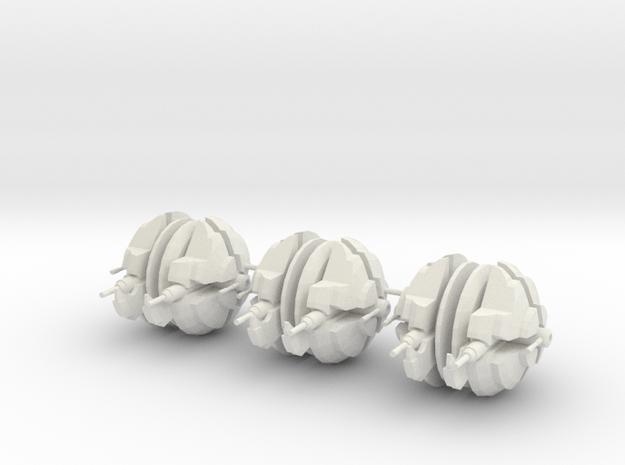 """Escolta de Renombre """"Kraav´cha´to""""  x3 in White Natural Versatile Plastic"""
