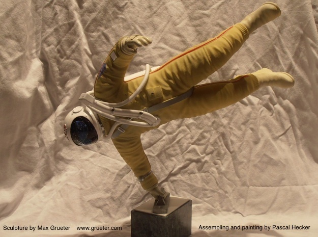 Cosmonaut Alexey Leonov ( 29cm Figure / Body) in White Strong & Flexible
