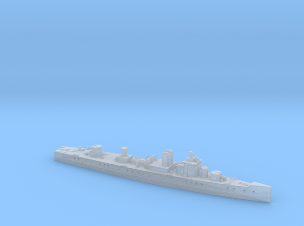 President Masaryk 1/1800 (without mast) in Smooth Fine Detail Plastic