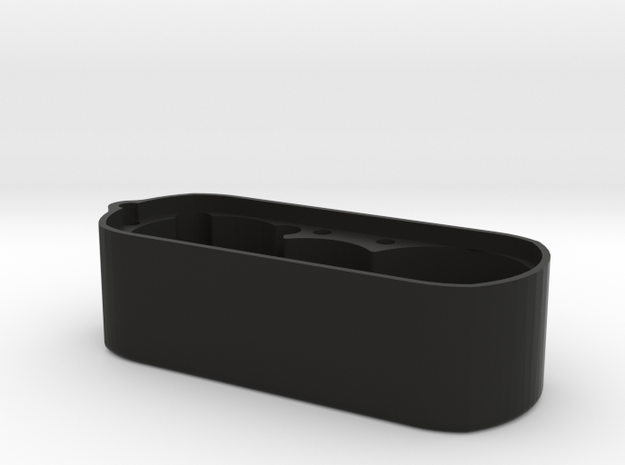 LRT2 Reverse Trans Main Case in Black Natural Versatile Plastic