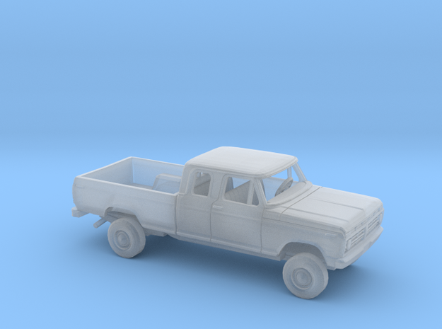 1/87 1973-77 Ford F-Series Ext.Cab Reg Bed Kit in Smooth Fine Detail Plastic
