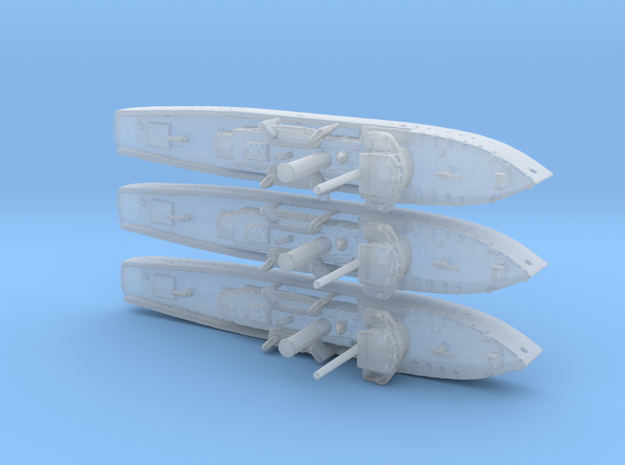 1/2400th scale 3 x polish gunboat General Galler
