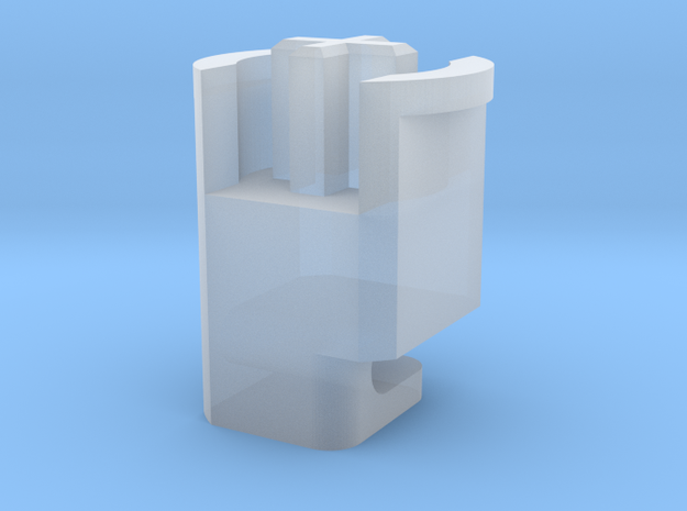 Topre to MX 6u Stabilizer Plunger (Right) in Smooth Fine Detail Plastic
