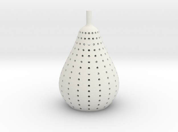 pear lamp in White Natural Versatile Plastic