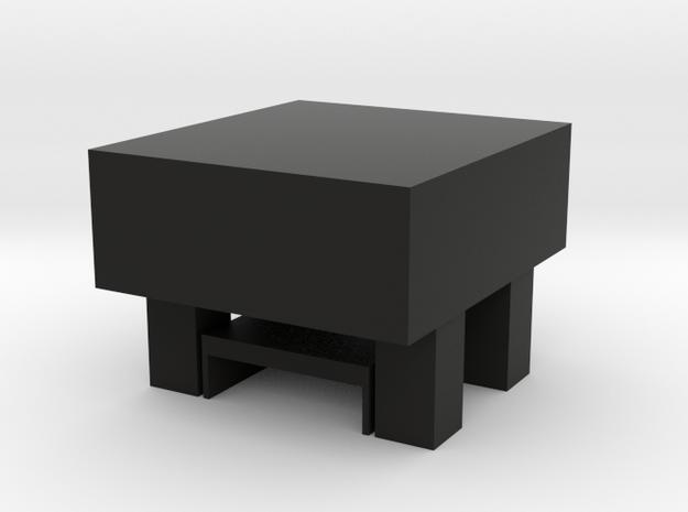 Multifunctional chair in Black Natural Versatile Plastic