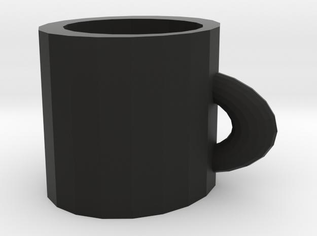 special cup in Black Natural Versatile Plastic