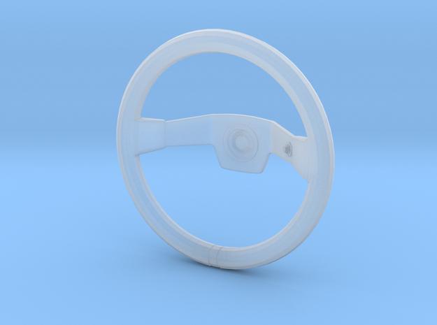 Steering Wheel - Deep Dish Rallye Type - 1/10 in Smooth Fine Detail Plastic