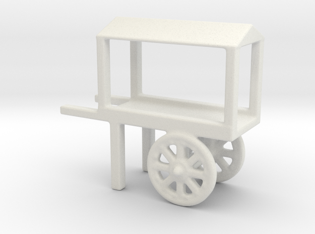 hand cart covered 2 in White Natural Versatile Plastic