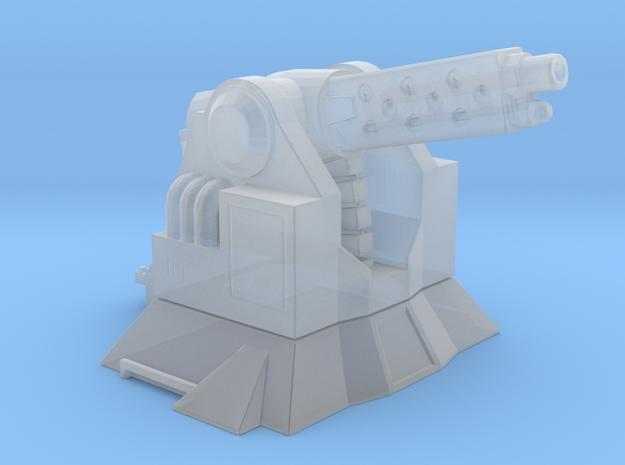 TR-14 defence turret in Smooth Fine Detail Plastic