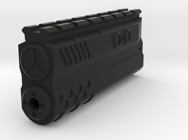 Incognito Blade Silencer for MP5 and MP5K Top Rail in Black Natural Versatile Plastic