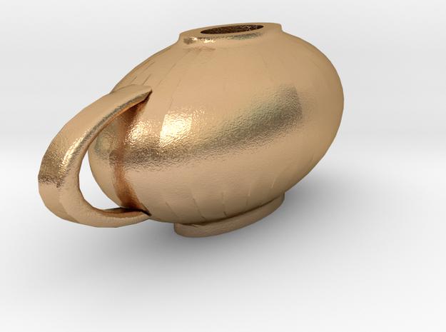 Lantern in Natural Bronze