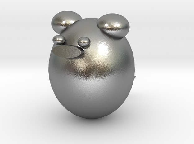 mouse in Natural Silver
